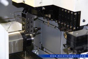 usinage numérique poupée mobile petit diamètre